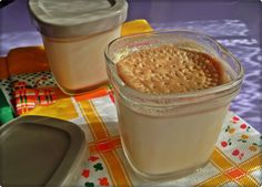 Pudding, Cooking, Desserts, Food, Vase, Gourmet Desserts, Pastries Recipes, Afternoon Snacks, Milk