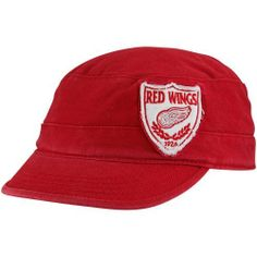 '47 Brand Detroit Red Wings Ladies Red Crest Military-Style Adjustable Hat by '47 Brand. $23.95. Military Style Adjustable Hats. Embroidered sewn on logo. 100% Cotton. Adjustable back closure. Woven graphic on back strap. When you are looking for both a stylish and comfortable way to help cheer on your Red Wings, look no further than this Detroit Red Wings Women's '47 Brand Red Crest Fidel Adjustable Hat. Brought to you by '47 Brand, this hat features a sewn on embroidered ...