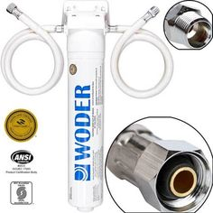 Woder 10K-GEN3 best under Sink Ultra High Water Filtration System  The woder 10K-GEN3 system is NSF affirmed. All filter system materials are also endorsed. It suggests you won't need to utilize whatever else than an adjustable wrench during this system. The Woder best sink ultra-high water system is ideal for filtering more than 10,000 gallons of water. You can use it without changing the channels for a long time. The screen should utilize identified with municipally treated drinking water. Under Sink Water Filter, Brita Water Filter, Water Filters, Water Filtration System, Water Systems, Planet Coffee, Coffee Filter Art, Alkaline Water Filter, Filtered Water Bottle