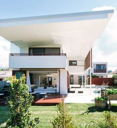 Escape to this beautiful home on the Australian coastline Byron Bay Beach, Shelter, Beautiful Homes, Beach House, House Design, Winter, Creative, Outdoor Decor, Home Decor