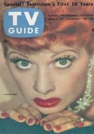 tv guide covers 1950s - Google Search