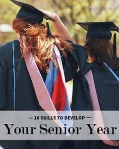 10 Skills to Develop Your Senior Year // Levo League