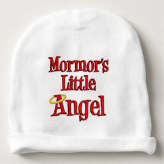 Mormor's Little Angel Swedish Grandmother Baby Hat - boy gifts gift ideas diy unique