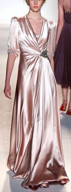 Satin Gown Wedding ideas