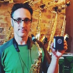 Eustace Wilken from Marshall Music in #southafrica!  Thank you so much for trust #EGR ! www.egrstore.com/en  #Sax #saxophonist #store #musicstore #dealer #endorsement #mouthpiece #ligatures #ligature