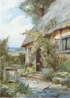Theresa Sylvester Stannard: At the Cottage Door