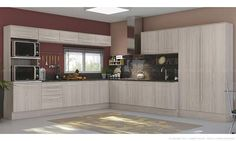 Cozinha Modulada Completa 13 Módulos Unique Carvalle - Kappesberg   Lojas KD
