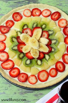 YUMMY Fruit Pizza re