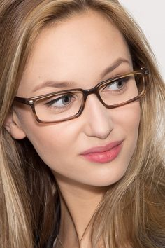 06defa057d Hugo Brown Acetate Eyeglasses from EyeBuyDirect. A fashionable frame with  great quality and an affordable