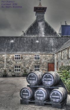 Glenfiddich Distillery, Dufftown, Scotland Set in the heart of the Highlands, Glenfiddich (meaning 'Valley of the Deer' in Gaelic) is a place of breathtaking beauty and home to the World's Most Awarded Single Malt Whisky.