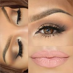 natural - soft - thick lashes - full soft lips