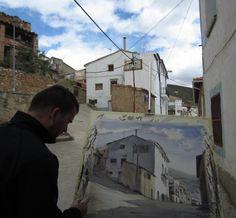 Terminando/almost finished — with Flavia Correa de Almeida in Ariño, Aragon, Spain.