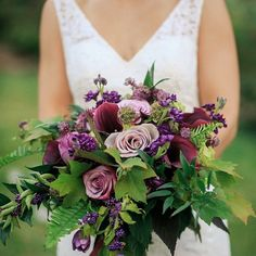 Gorgeous with a grand variety of foliage & varying shades of purple. The callicarpa is a wonderful addition. <3 <3 <3