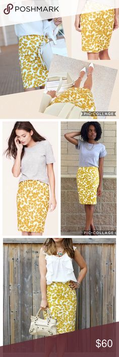 c414d9d0c7d6 Yellow Pencil Skirt - excellent condition I m so sad to part with one