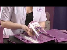 Sara Davies from Crafter's Companion introduces the Ultimate Crafter's Companion and demonstrates the product. Features an incredible 10 tools in the 1 produ...