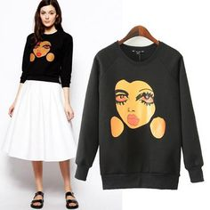 High Fashion Doll Face Sweater · Luxury FAB · Online Store Powered by Storenvy mango,  #fall fashion