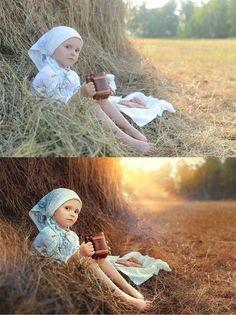Обработка фото в поле