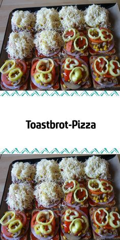 Toastbrot-Pizza If you do not want to prepare a yeast dough that is the basis for the classic pizza, just try to put slices of toast on the baking sheet. It is a quick variant that tastes good. Baked toasted bread with ham, cheese and vegetables. Healthy Bread Recipes, Keto Crockpot Recipes, Healthy Banana Bread, Banana Bread Recipes, Pizza Recipes, Toast Pizza, Bread Pizza, Pizza Pizza, Dough Pizza