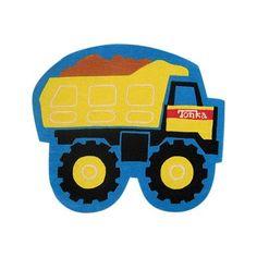 Tonka Dump Truck Rug Big Kids Room Kids Room Truck Crafts