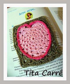 Tita Carré  Agulha e Tricot : O Square Coração em crochet e a  história do dia d...