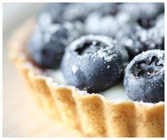 Blueberry Tort from The Addison on Amelia - Amelia Island Bed & Breakfast Association FL