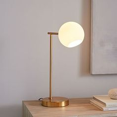 Beautiful A Built In USB Port Makes Our Sleek And Airy Staggered Glass Table Lamp  Perfect