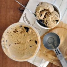 Cafe Du Monde Coffee Ice Cream with Chocolate 'Freckles'