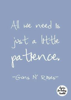 Patience by Guns n' Roses