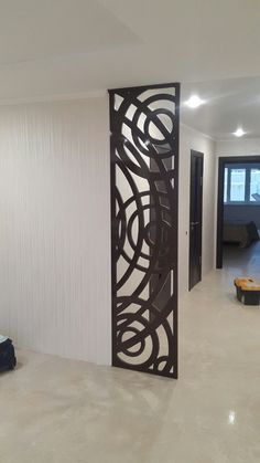 Astounding Cool Ideas: Easy Room Divider Furniture Plans room divider headboard home.Room Divider Headboard Home. Bathroom Furniture Storage, Wall Design, Decor, Room Divider Headboard, Apartment Decor, Apartment Entryway, Trendy Living Rooms, Rustic Living Room, Room Divider Doors