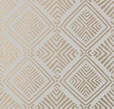 Donavin Diamond by Anna French - Metallic Gold - Wallpaper : Wallpaper Direct