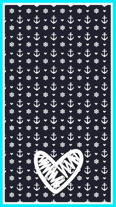 Anchor iPhone 6/6s Wallpaper. Created by Amy Raymond.  *You may freely share, and use my wallpapers but please do not claim as your own, alter or use them for a profit.