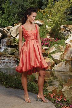 If i was really skinny maybe short burnt orange dress
