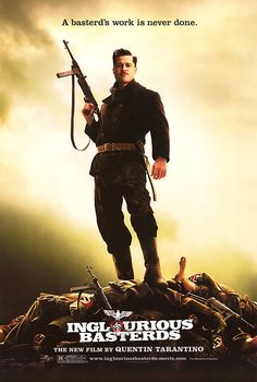 """Inglourious Basterds."" (original poster.) 2009."