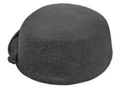 Pillbox-Stil Hut, Velluto Nero Qualität, Filz-Dekoration, Metallabzeichen
