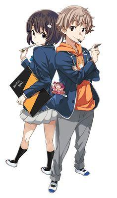 Anime Demon, Manga Anime, Anime Art, Otaku, Anime School Girl, Animes Wallpapers, I Love Anime, Art Club, Anime Couples
