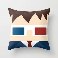 David+Tennant,+10th+doctor+Throw+Pillow+by+Heartfeltdesigns+By+Telahmarie+-+$20.00
