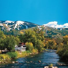 Steamboat Springs, Colorado yampa river