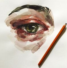 Healthy living at home devero login account access account Figure Drawing, Painting & Drawing, Animal Drawings, Art Drawings, Elly Smallwood, Watercolor Eyes, Street Painting, Living At Home, Eye Art