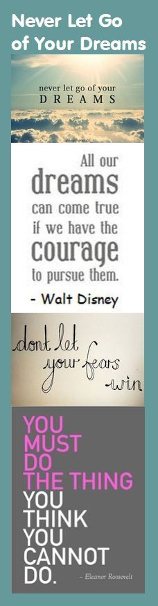 You must do the thing you think you cannot do. Gotta love Eleanor Roosevelt quotes.