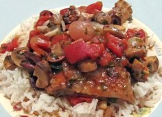 Beast's Recipes!: Crock Pot Chicken Marengo