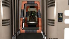 Eagle Interior corridor by Tenement01 on DeviantArt