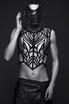 Photographer unknown #fashion #editorial #mask