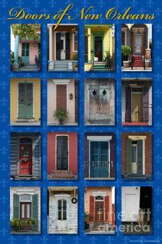 Doors Of New Orleans By Heidi Hermes