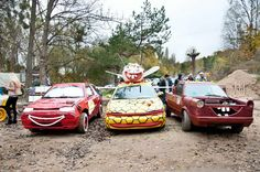 #wrak race #adventure park gdynia kolibki #race #old car #car #Wreck race #dirty #mud #gdynia
