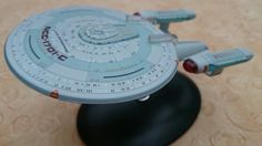 USS Enterprise NCC 1701-C, Ambassador class. Lost in time and the only one is Starfleet