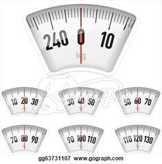 Bathroom scales dial to print for miniature dollhouse bathroom scale