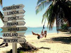 Suwarrow, Cook Island, Pacific.
