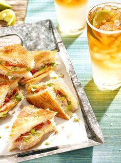 Sunny day sandwiches. Photo by Steve Krug.