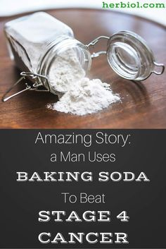 "This is a real life story. It's a remarkable story about a man who successfully ""destroyed"" stage IV cancer with just using one simple ingredient – baking soda. His name is Vernon Johnston, and he has been fighting with stage IV prostate cancer."