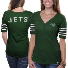'47 Brand New York Jets Women's Playoff T-shirt - Green - $22.99